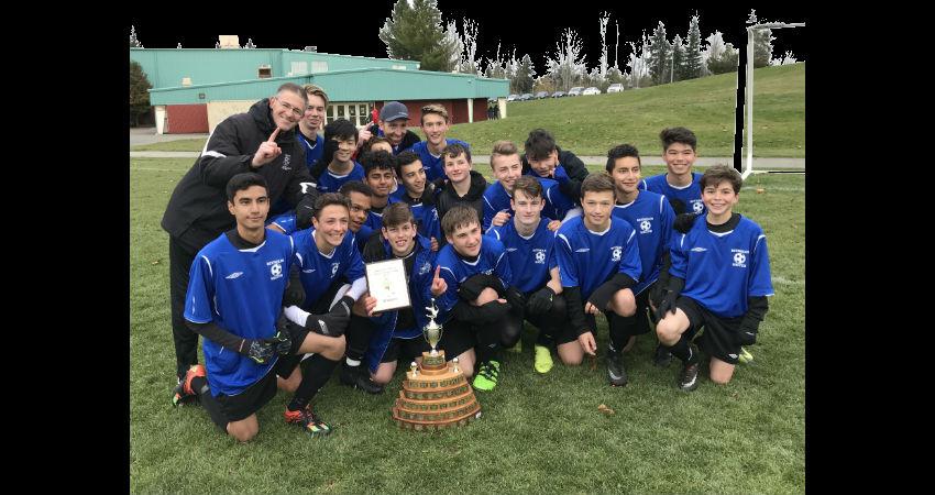 Island Champions Jr. Boys Soccer