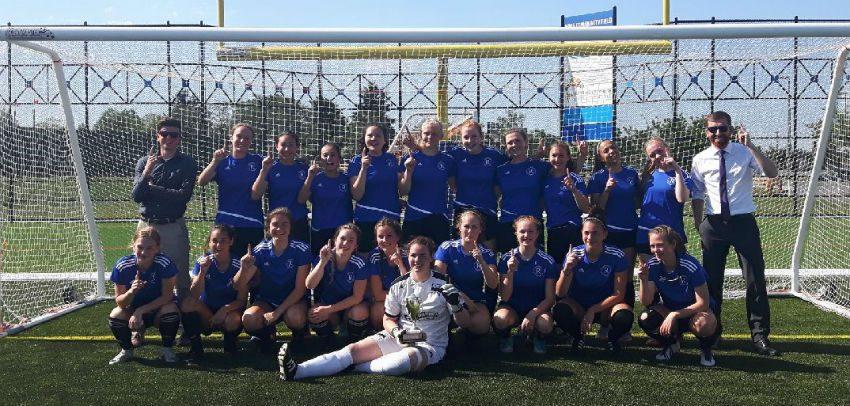 Sr. Girls Island Champions